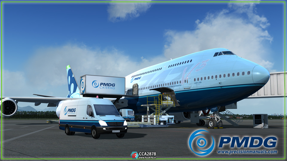 PMDG Boeing 波音747-8 附和谐补丁 EFB完美可用